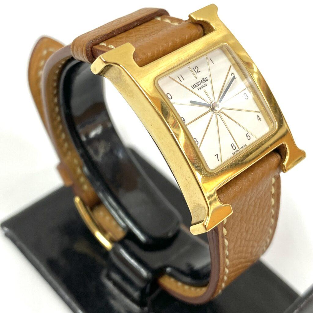 HERMES エルメス Hウォッチ HH1.201 腕時計