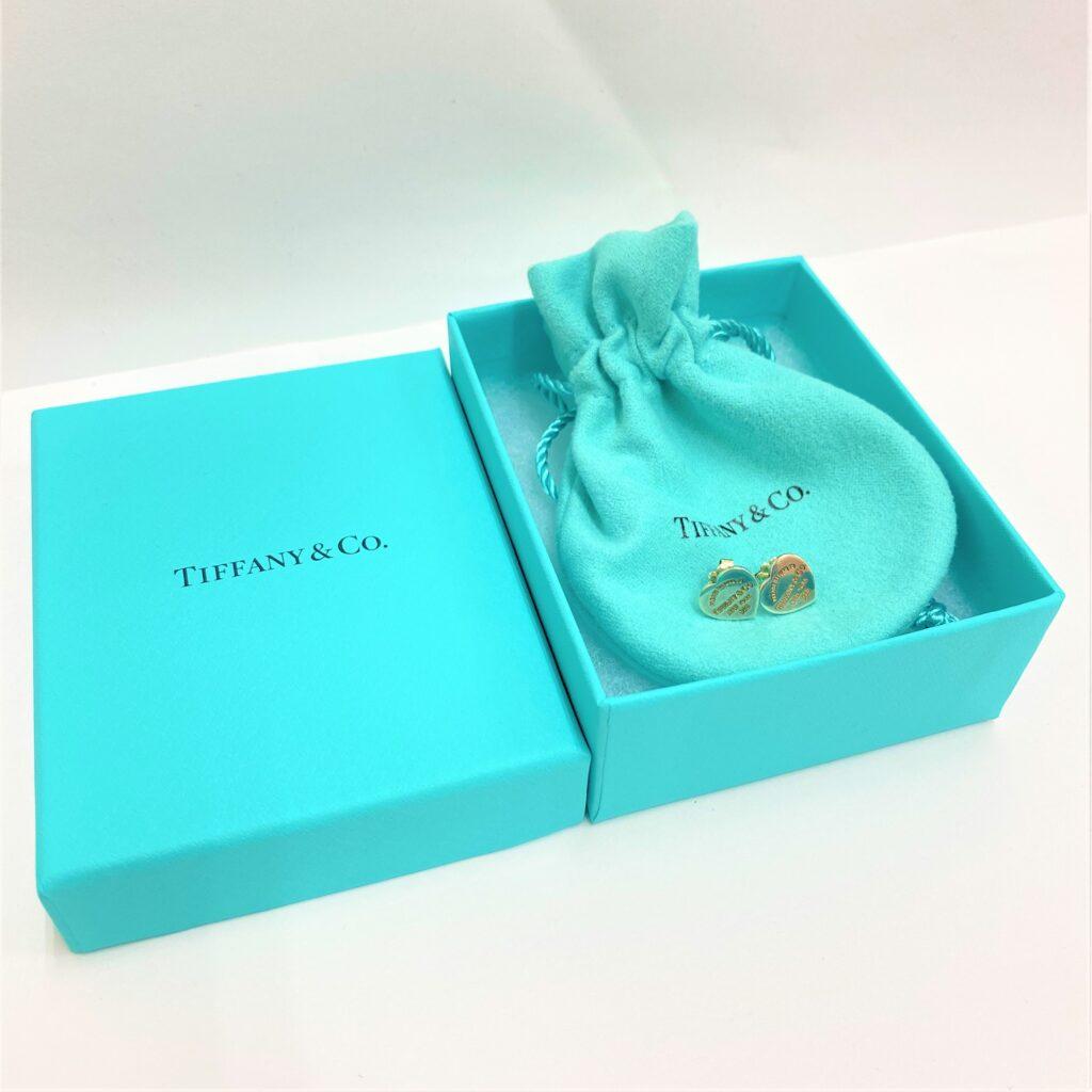 TIFFANY& CO. ティファニー リターントゥハート ピアス シルバー 925