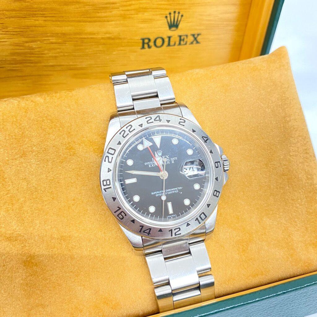 ROLEX ロレックス エクスプローラーⅡ 16570