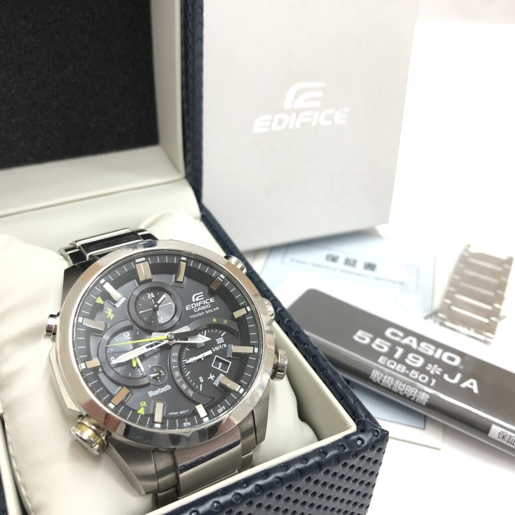 CASIO EDIFICE(カシオ エディフィス) EQB-501 メンズ腕時計