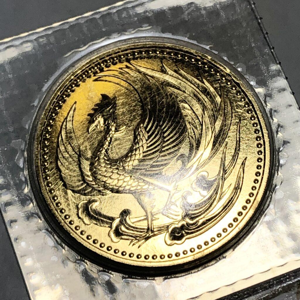 天皇陛下御即位記念 10万円金貨K24