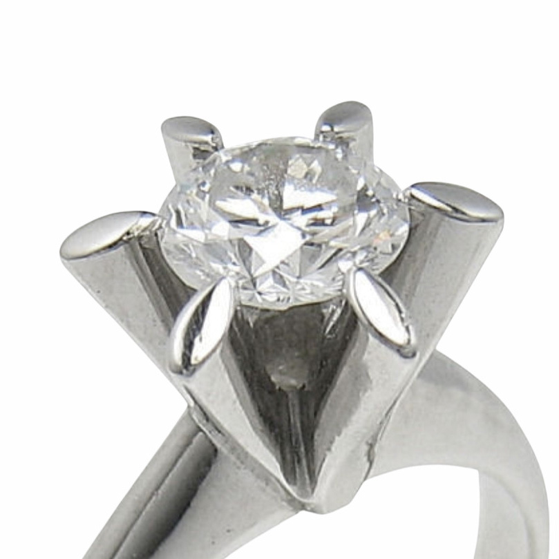 プラチナダイヤモンドリング  0.5ct