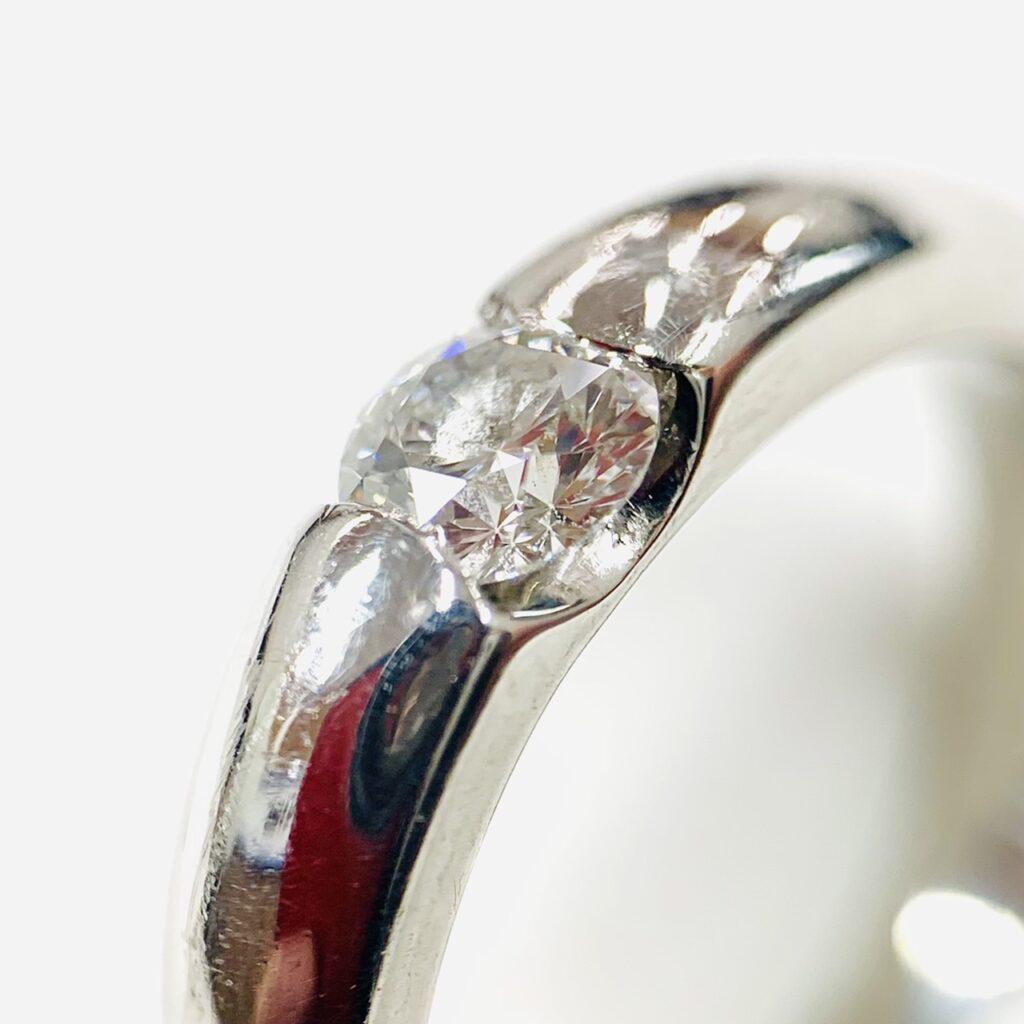 Pt900 0.3ct ダイヤモンド プラチナリング