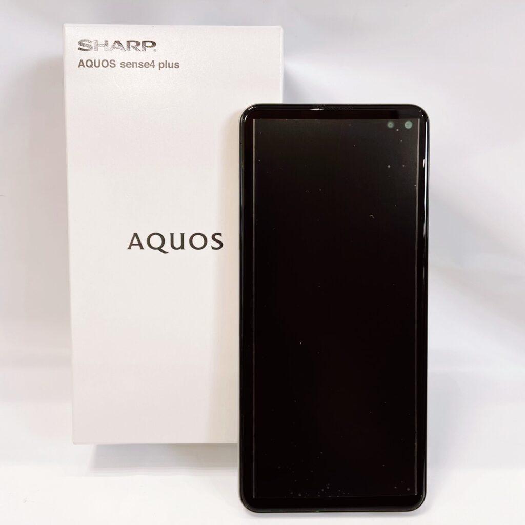AQUOS sense4 plus SH-M16 ホワイト