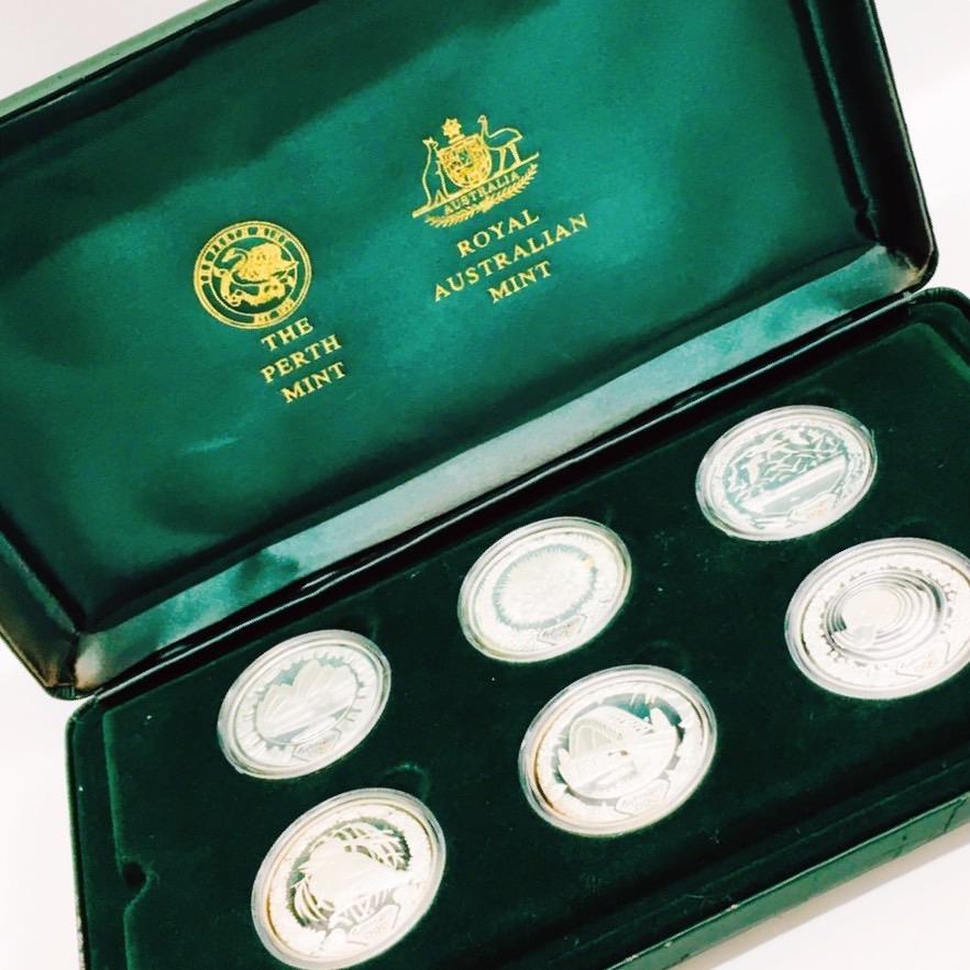 2000年 シドニーオリンピック 公式記念銀貨 セット