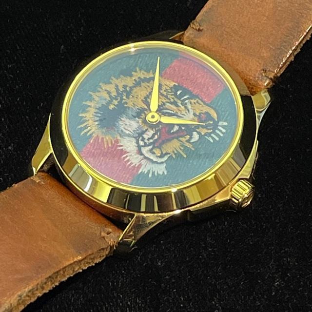GUCCI  G-TIMELESS tiger メンズ腕時計
