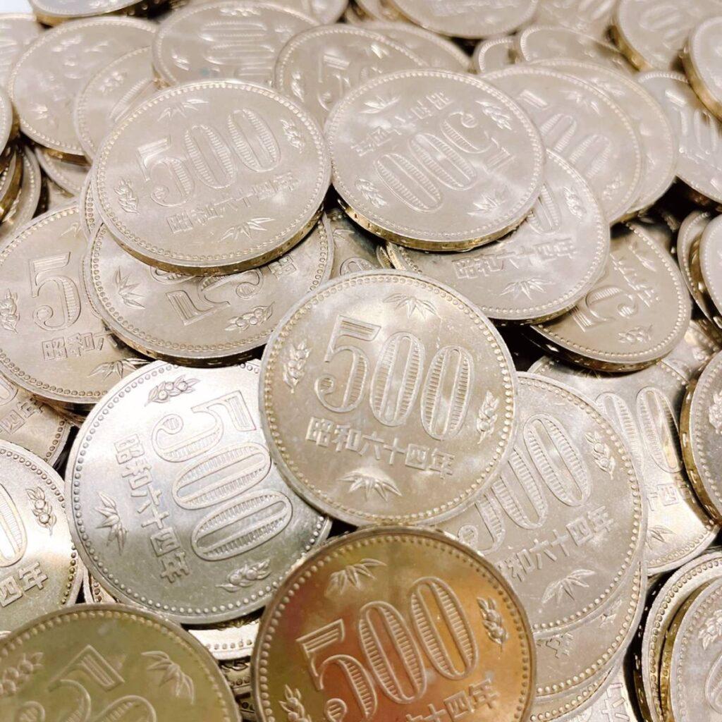 昭和64年 500円硬貨