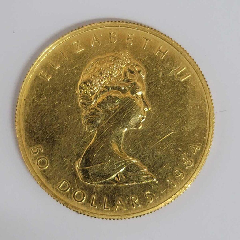 K24  メイプルリーフ金貨