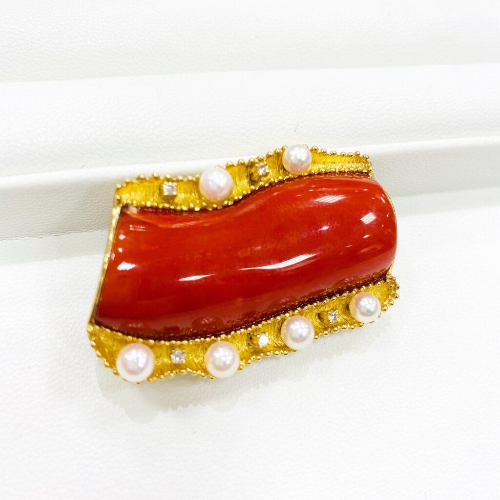 赤珊瑚装飾品