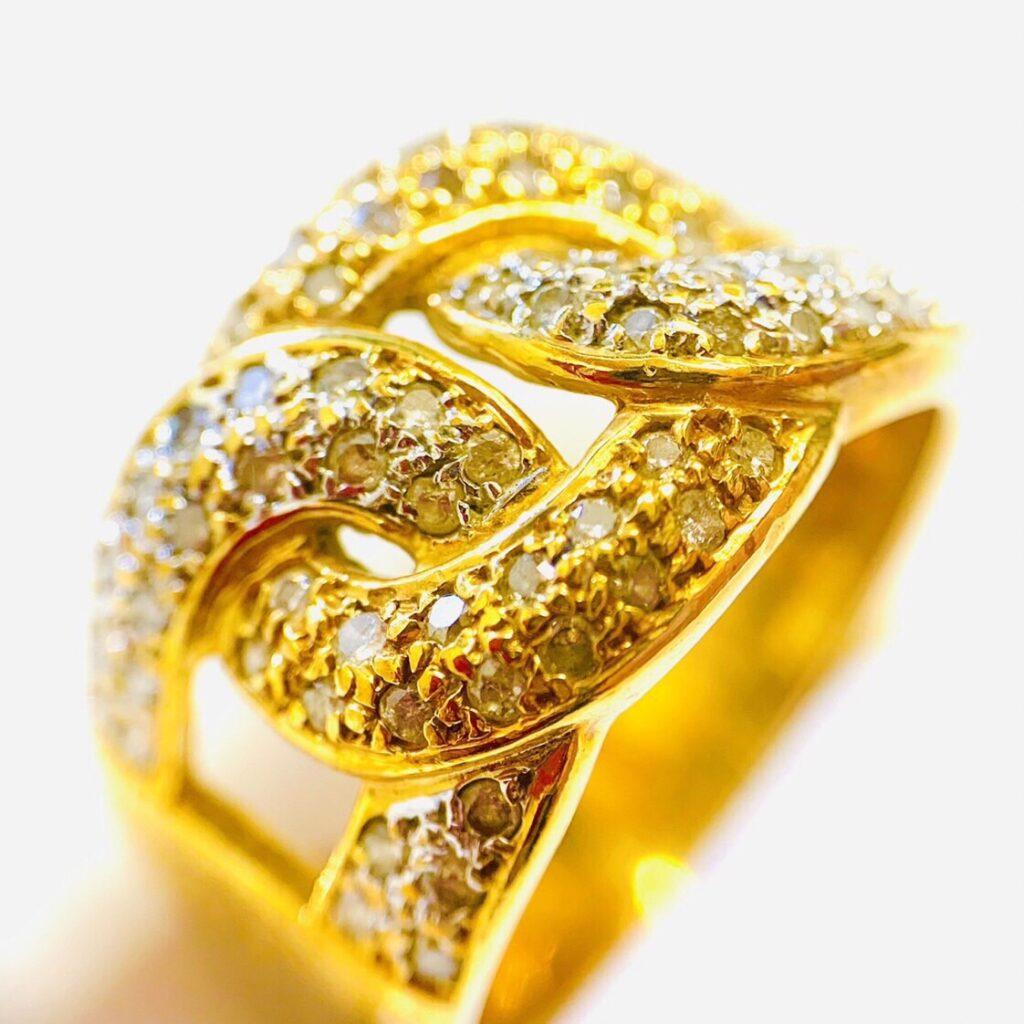 18金 メレダイヤモンド ジュエリーアクセサリー