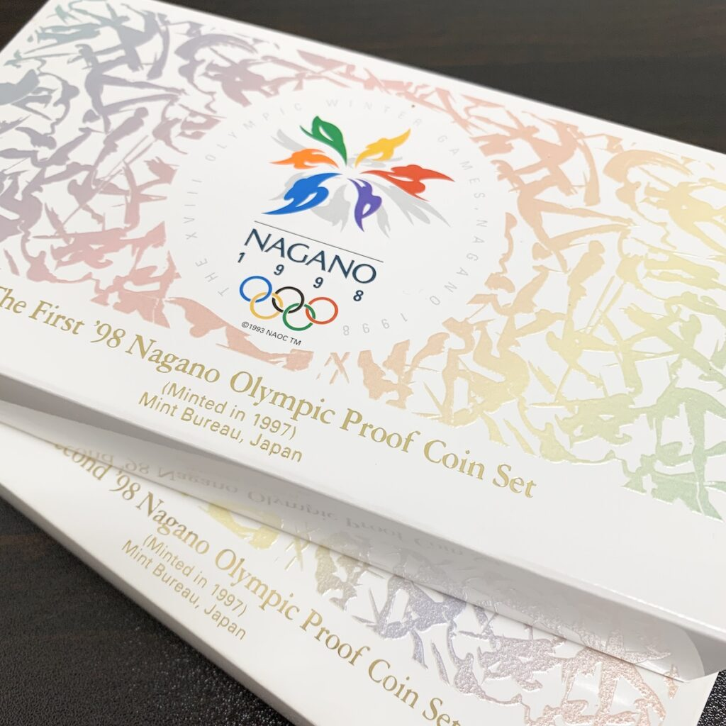 長野オリンピック冬季競技大会記念貨幣プルーフセット
