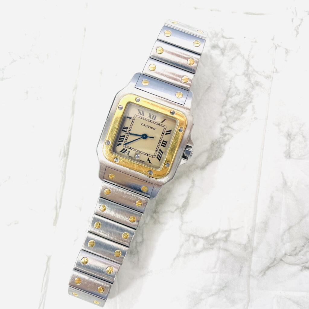 Cartier カルティエ サントスドゥサントス 腕時計