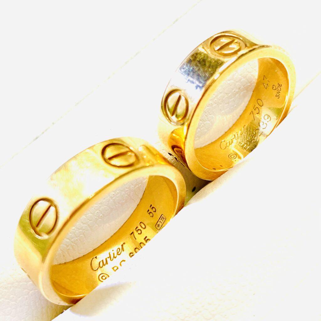 Cartier カルティエ ゴールドリング